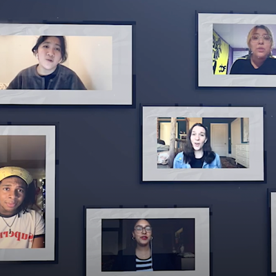 "To close the historic and challenging Spring semester, CCNY Musical Theatre Workshop students and faculty member Chan Harris collaborate in a May 2020 virtual performance of ""You Will Be Found,"" from DEAR EVAN HANSEN, a musical by Benj Pasek, Justin Paul and Steven Levenson. Department of Theatre and Speech, 人文和艺术师, 澳门金沙城中心"